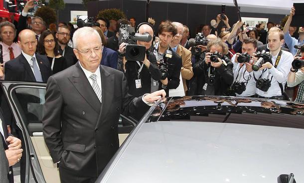 VW 2015 Hauptversammlung Dr. Martin Winterkorn