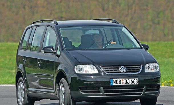 VW Touran Gebrauchtwagen Van Familienautos Ratgeber