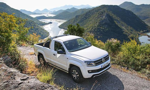 VW Amarok 2.0 TDI Adventure Tour Albanien Montenegro Reise Reportage Pick-up