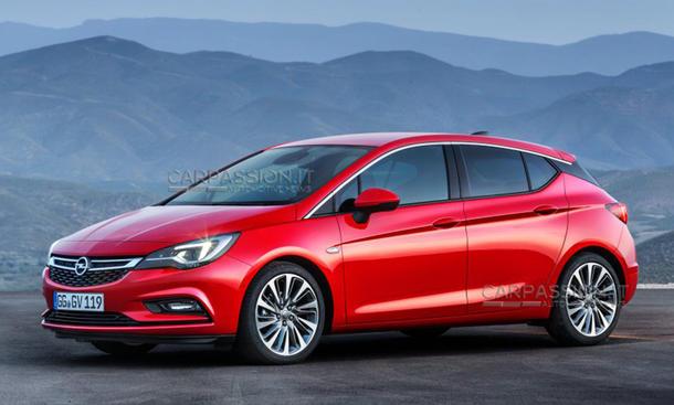 2015 Opel Astra K leak bilder
