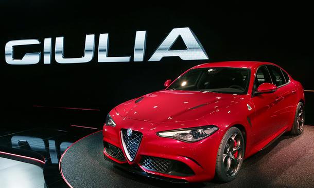 Alfa Romeo Giulia 2016 Premium Mittelklasse-Limousine Fiat Ferrari Maserati