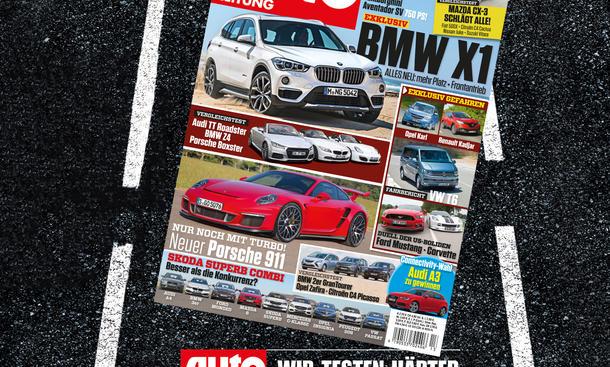 Auto Zeitung 13/2015 Heft-Vorschau Cover