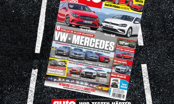 Auto Zeitung 14/2015 Heft-Vorschau Cover