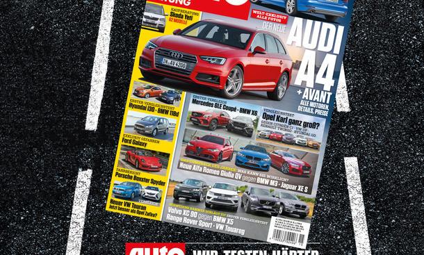 Auto Zeitung 15/2015 Heft-Vorschau Cover