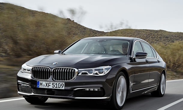 BMW 7er 2015 Leak Foto Online-Konfigurator Luxusklasse Luxus-Limousine