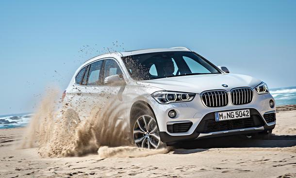BMW X1 2015 IAA Kompakt-SUV Frankfurt Weltpremiere