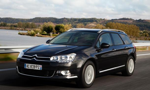 Citroën C5 Motoren Limousine Kombi Diesel Benziner Preise Mittelklasse
