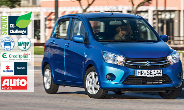 co2 challenge 2015 suzuki celerio leser test aktion