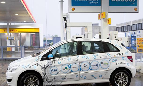 Elektroauto Förderung Bundesregierung Wasserstoff-Tankstellen Brennstoffzelle Elektroautos alternative Antriebe
