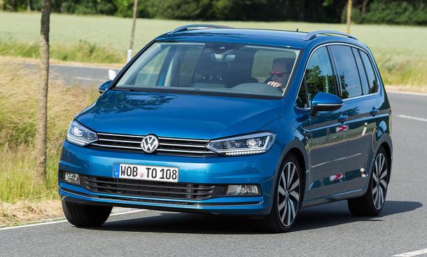 Fahrbericht VW Touran 2015 Van MQB Test Innenraum Platz Kofferraum