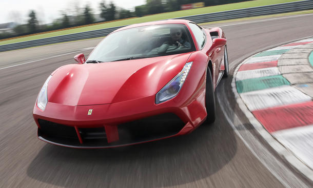 ferrari 488 gtb 2015 fahrbericht supersportwagen v8 maranello