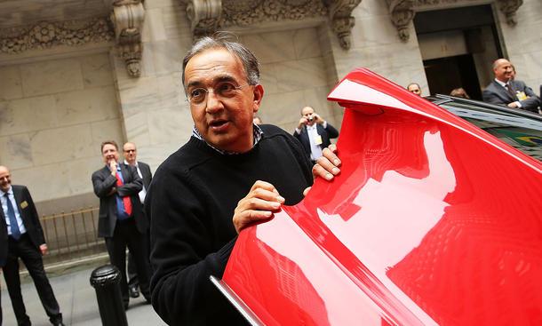 Fiat Chrysler Sergio Marchionne Fusionspläne Zusammenschluss Hedgefonds Wirtschaft