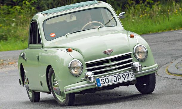 Gutbrod Superior 700 E Fahrbericht Oldtimer Coupe