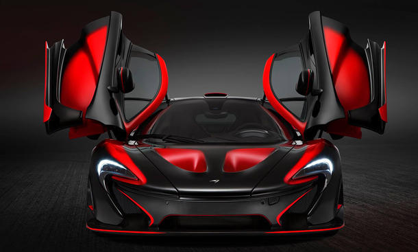 mclaren p1 customized individual lackierung interieur exterieur