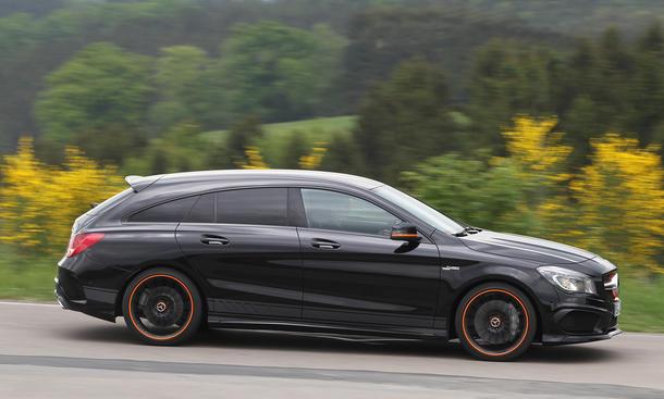 mercedes-amg cla 45 shooting brake: test | autozeitung.de