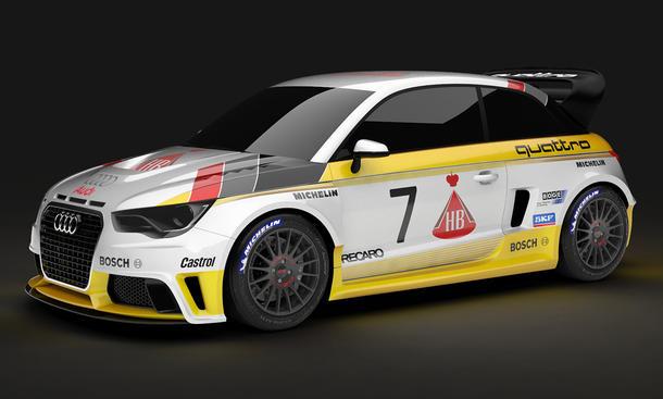MTM Audi S1 Gruppe B A1 Tuning Power-Kleinwagen Fünfzylinder