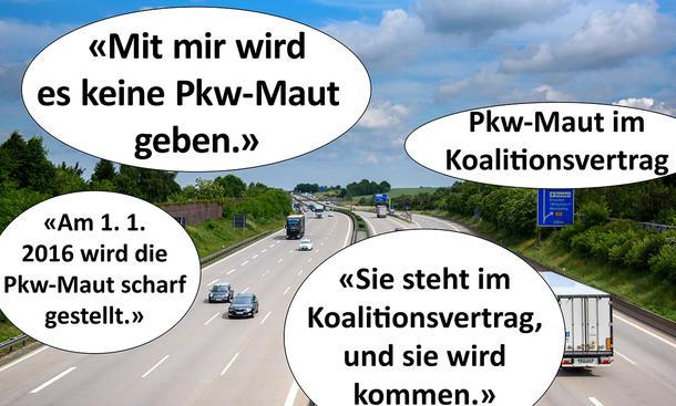 Pkw-Maut Chronik Zitate Merkel Dobrindt Chronologie