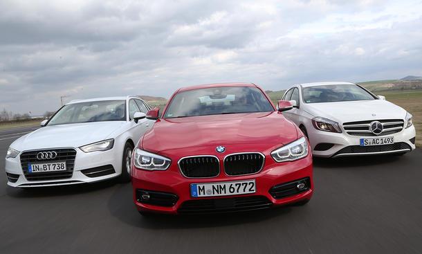 Premium Absatz BMW Audi Mercedes Verkaufszahlen Mai 2015 Vergleich
