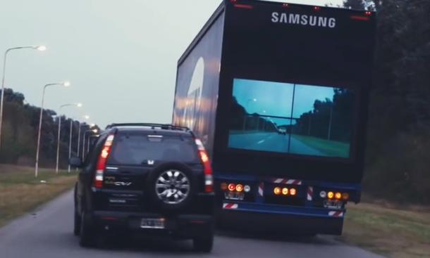 Samsung Safety Truck Kamera Lkw Sicherheit durchsichtig Monitor