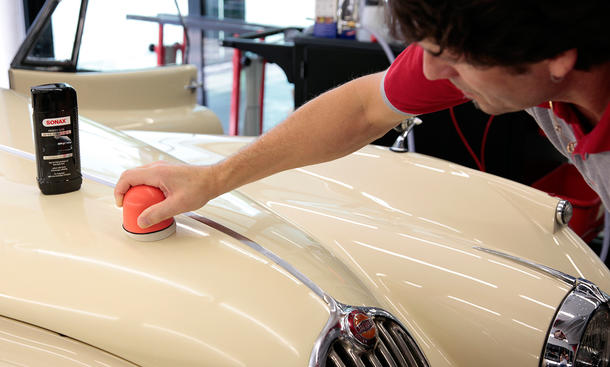 Sonax Autopflege-Workshop 2015 Classic Cars Teilnehmer gesucht