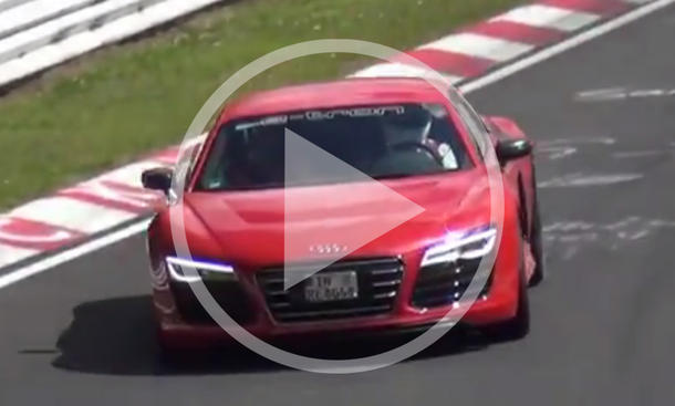 Audi R8 e-tron: Sound-Video