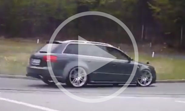 Video: Audi RS4 Avant bei der Kurvenhatz