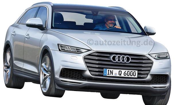 SUV Neuheiten Audi Q6 Coupe