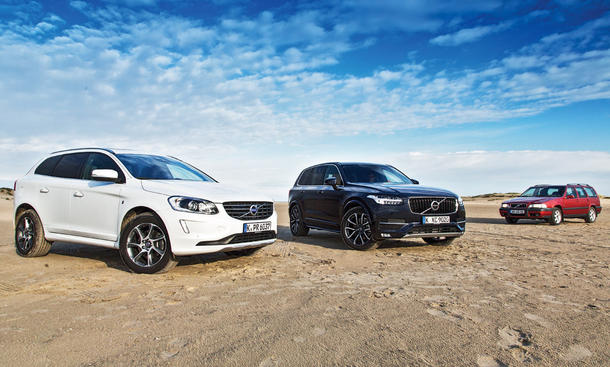 Volvo XC90 XC60 V70 Cross Country Faszination Vergleich