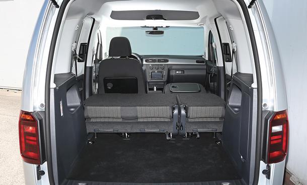 vw caddy renault kangoo im kastenwagen vergleich bild. Black Bedroom Furniture Sets. Home Design Ideas