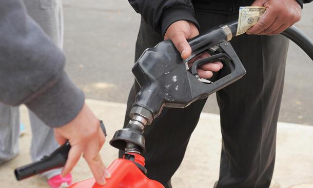 Kraftstoff Bußgeld Benzin