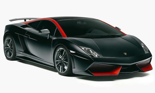Lamborghini Gallardo 2013 Edizione Tecnica Auto Salon Paris 2012