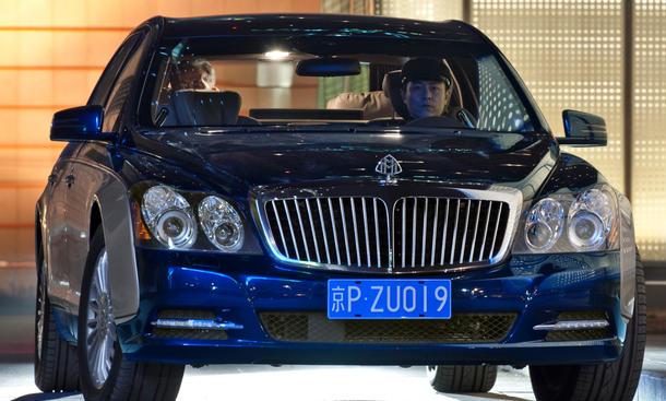 Maybach 62 Modelljahr 2010
