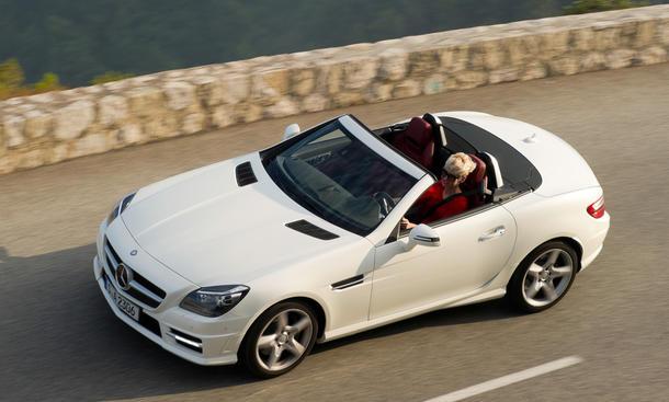 Mercedes SLK 250 CDI Diesel IAA 2011