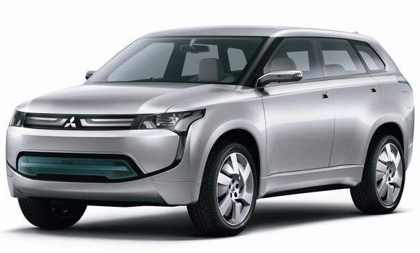 Mitsubishi PX-MiEV Concept IAA 2011 Crossover-Studie