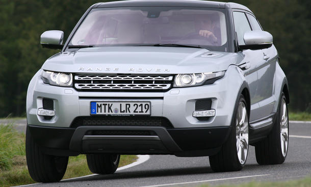 Range Rover Evoque eD4 - Lightversion