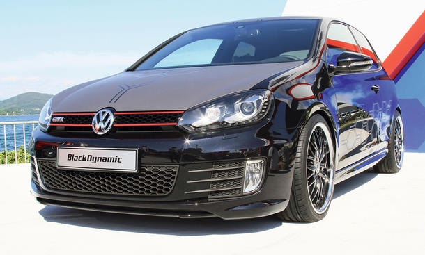 VW Golf GTI Black Dynamic 2012