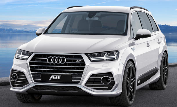 Abt Audi Q7 2015 Tuning Aerodynamik-Paket Luxus-SUV
