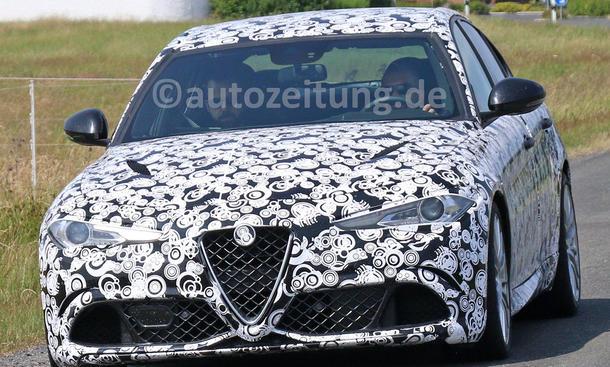 Alfa Romeo Giulia 2016 Erlkoenig