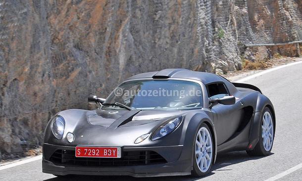 Renault Alpine Erlkönig-Mule Sportwagen