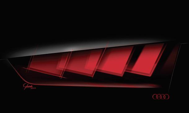 Audi Matrix OLED 2015 IAA Lichttechnik Audi Q6 e-tron