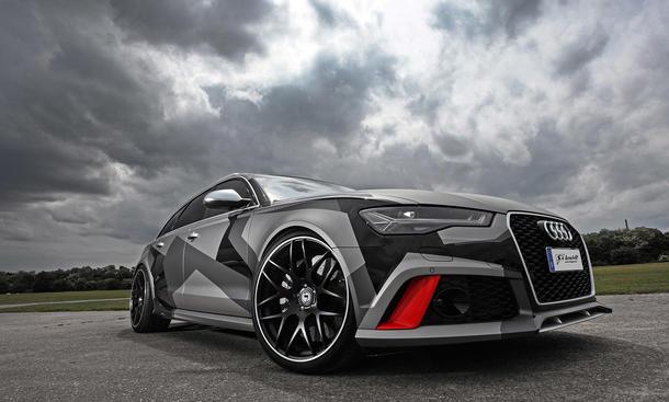 Audi RS6 Avant: Tuning von Schmidt Revolution/Best Cars