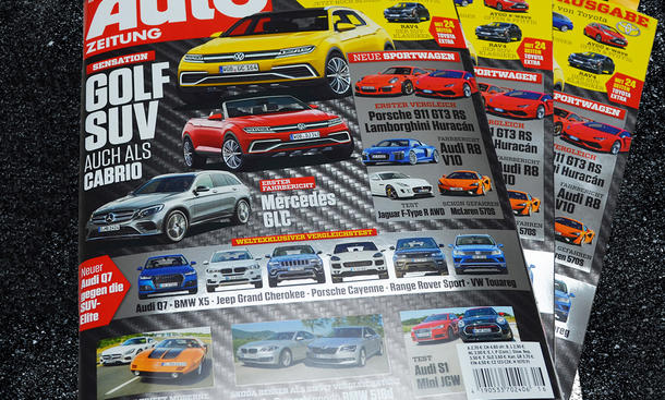 Auto Zeitung 16/2015 Heft-Vorschau Cover