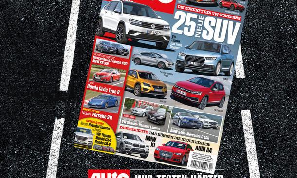Auto Zeitung 17/2015 Heft-Vorschau Cover