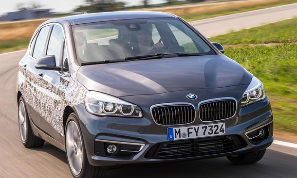 BMW 2er Active Tourer Plug-in-Hybrid Van 2016 Marktstart