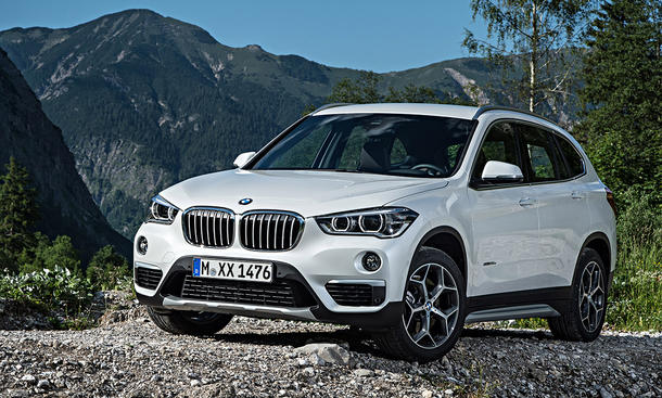 bmw x1 2015 f48 feiert premiere auf iaa. Black Bedroom Furniture Sets. Home Design Ideas