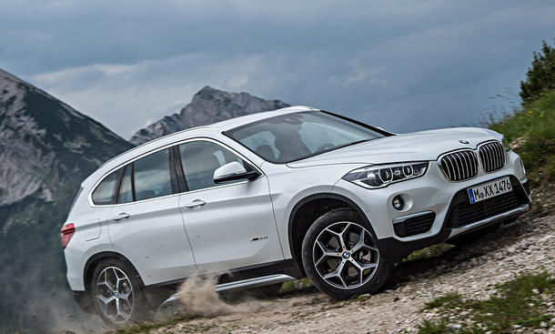 bmw x1 2015 f48 feiert premiere auf iaa bild 3. Black Bedroom Furniture Sets. Home Design Ideas