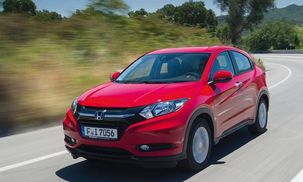 Fahrbericht Honda HR-V 2015 1.6 i-DTEC Diesel Kompakt-SUV