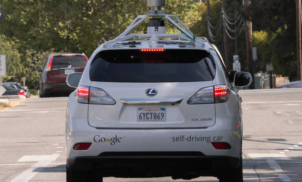 google auto autonomes fahren self driving car unfall accident video