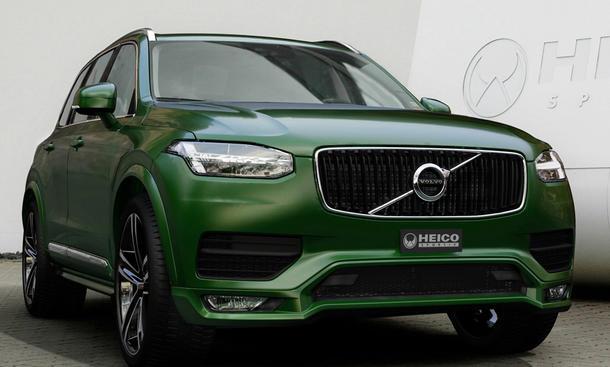 Volvo XC90 D5 Tuning Heico Sportiv Leistungssteigerung