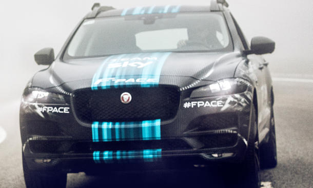 Jaguar F-Pace 2016 luxus suv tour de france